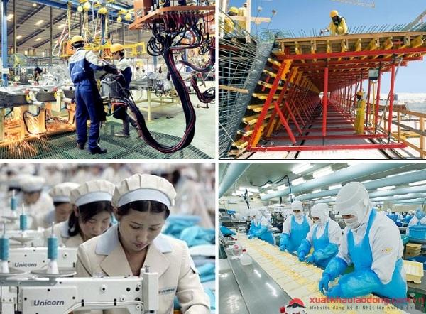 Tiếp xúc với nền công nghiệp hiện đại