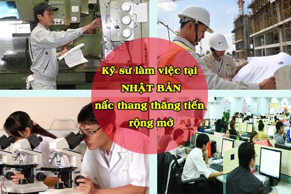 Kỹ sư làm việc tại Nhật – nấc thang thăng tiến rộng mở