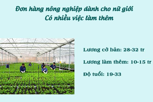 Làm nông nghiệp